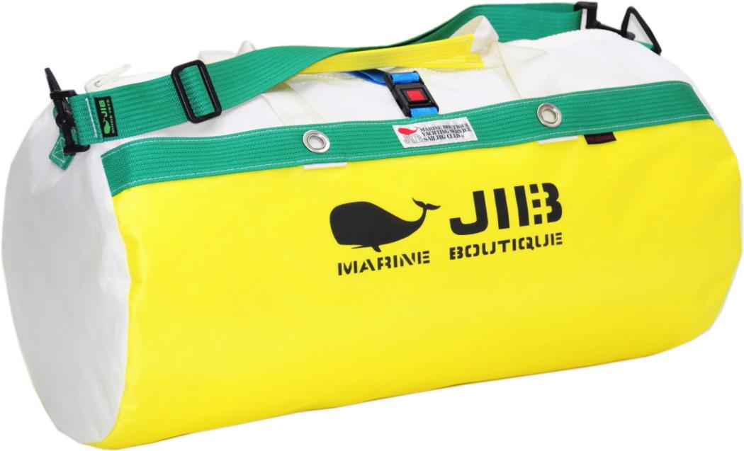 JIB ダッフルバッグM DM170 イエロー×グリーン 57×φ29cm 約37L