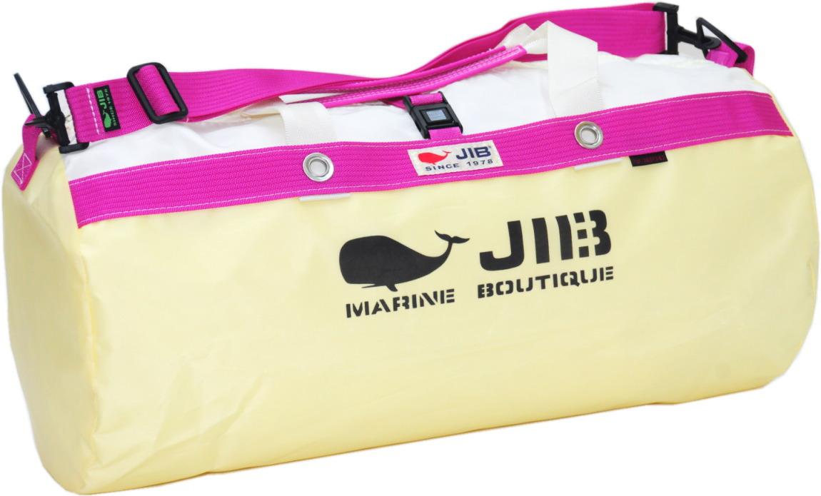 JIB ダッフルバッグM DM170 シトラス×ピンク 57×φ29cm 約37L