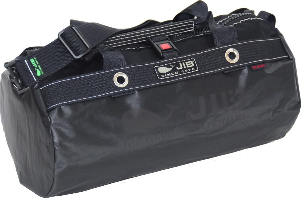 JIB ダッフルバッグS DS130 ブラック42×22cm 約15L