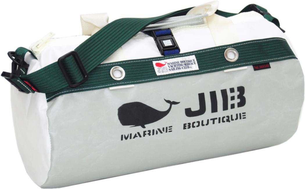 JIB ダッフルバッグS DS130 グレー×モスグリーン