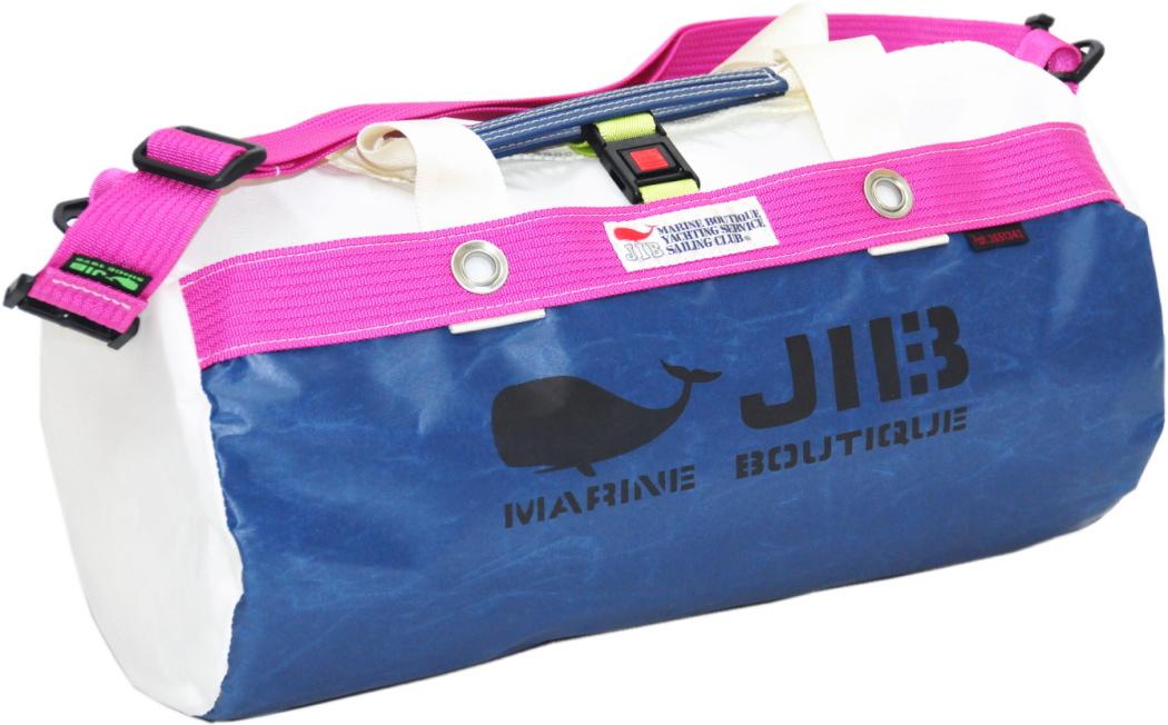 JIB ダッフルバッグS DS130 ネイビー×ピンク42×22cm 約15L