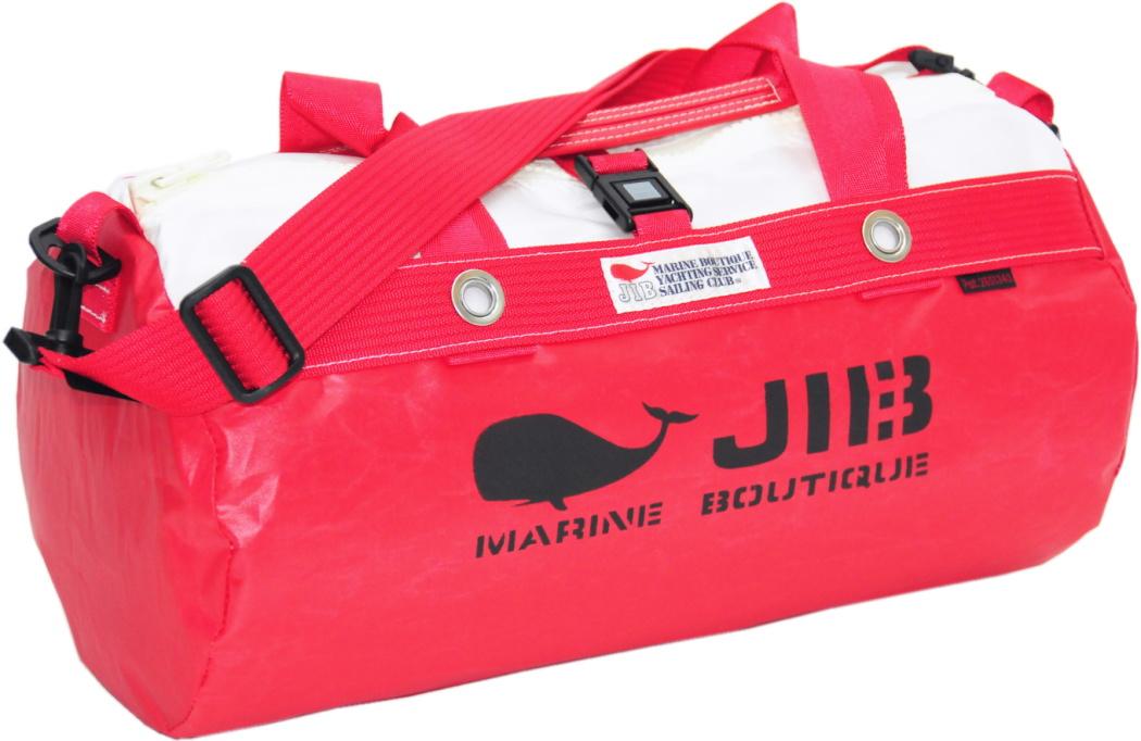 JIB ダッフルバッグS DS130 レッド42×22cm 約15L