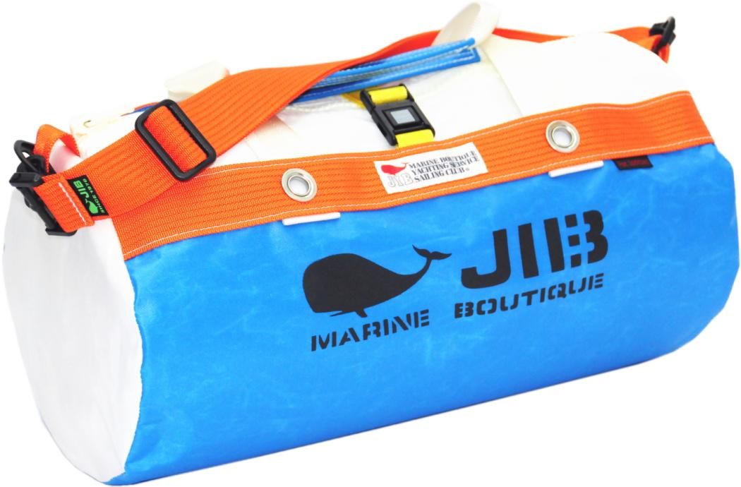 JIB ダッフルバッグS DS130 ロケットブルー×オレンジ42×22cm 約15L