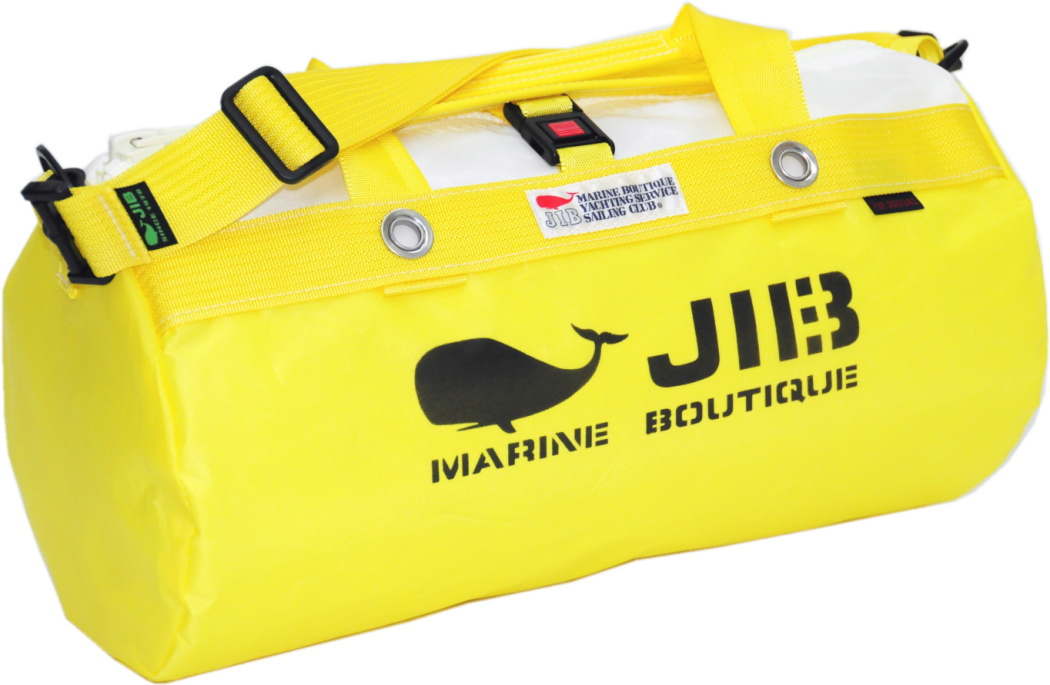 JIB ダッフルバッグS DS130 イエロー42×22cm 約15L