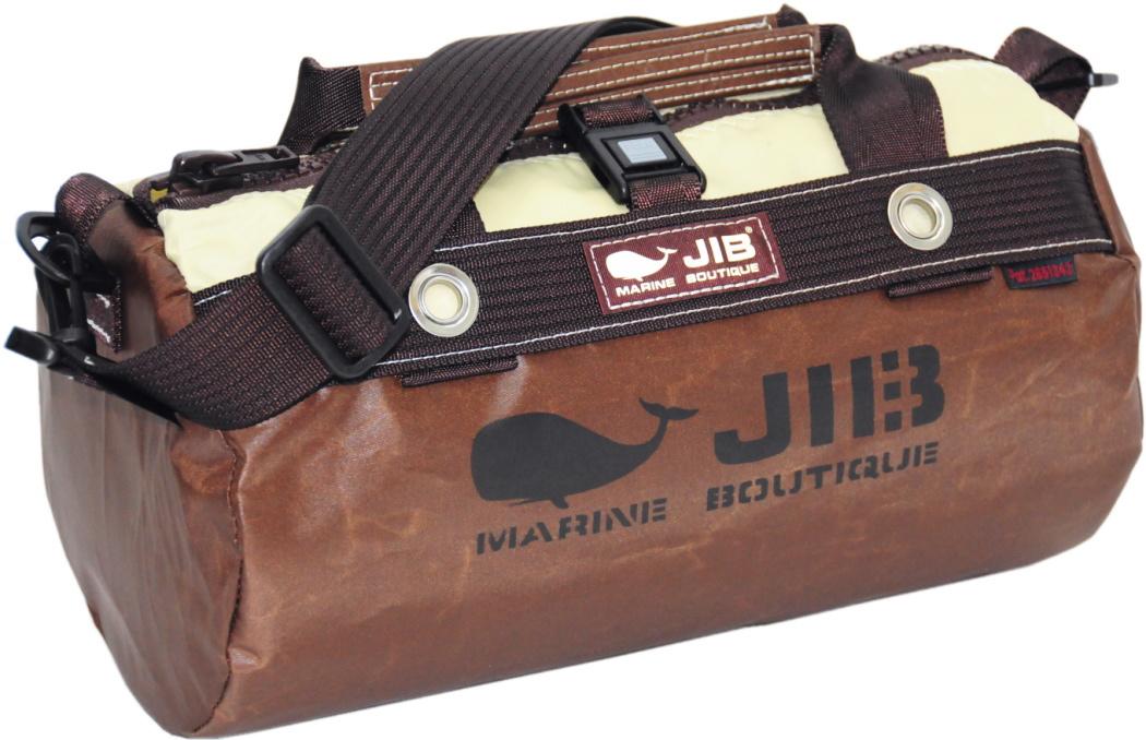 JIB ダッフルバッグSS DSS120スペシャルブラウン W32×φ17cm 約7L