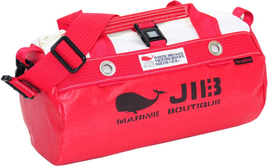 JIB ダッフルバッグSS DSS120 レッド W32×φ17cm 約7L