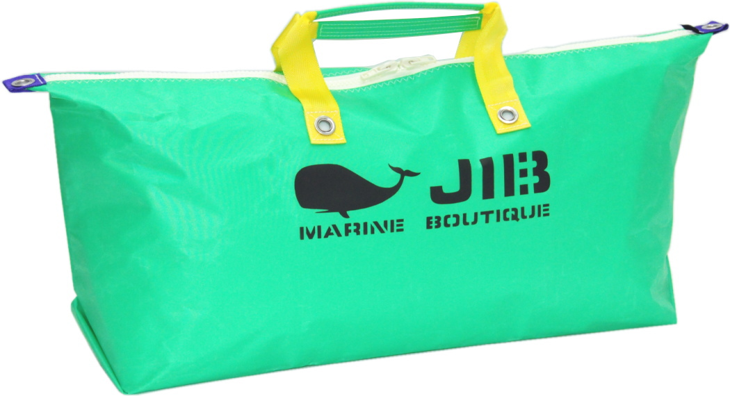 JIB テニスバッグ TN128 エメラルドグリーン×イエローハンドル75×36×18cm3つ仕切りの吊り下げポケット付き