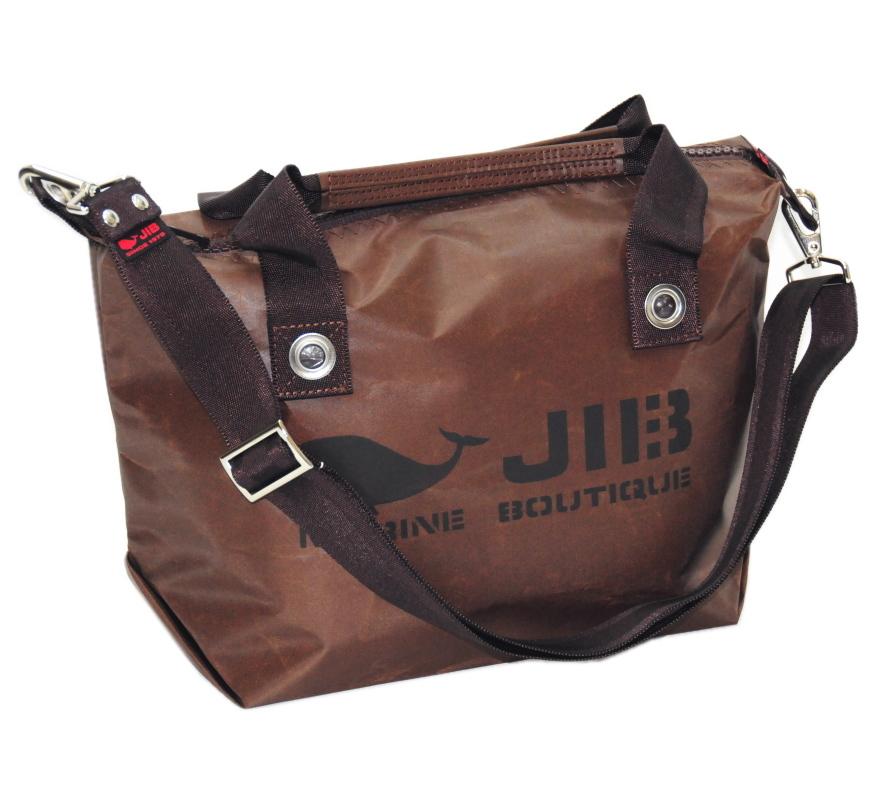 セット販売 JIB ファスナートートS スペシャルブラウン+無地ショルダーベルト ブラウン FTS68+SB40MM27