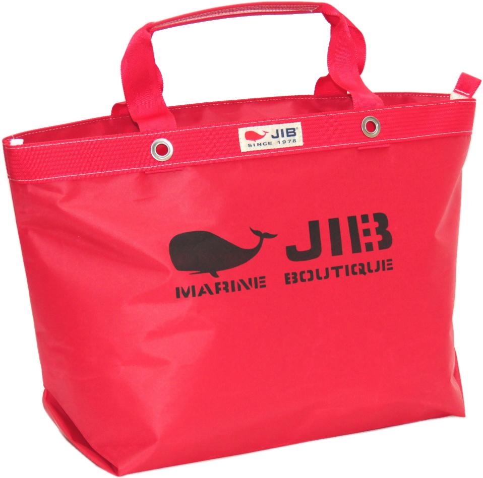 JIB オープンDトート インナージップM TDFM98 レッド 56.5×35.5×17.5cm 約35L