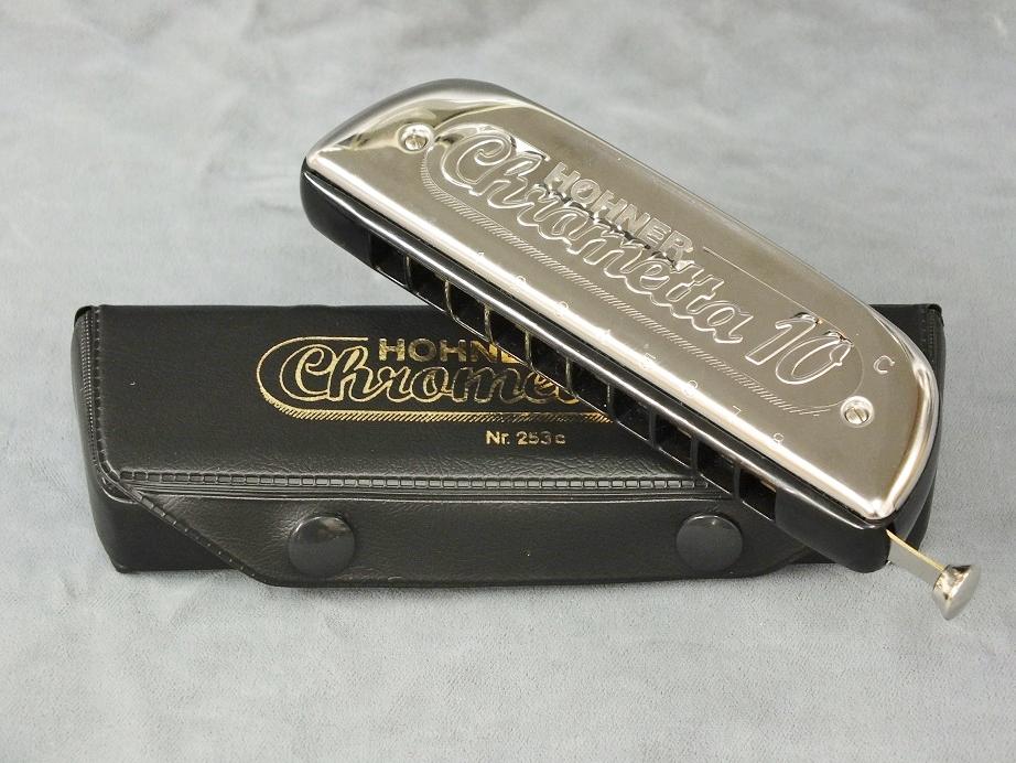 HOHNER Chrometta-10 (クロメッタ-10) 【クロマチックハーモニカ】
