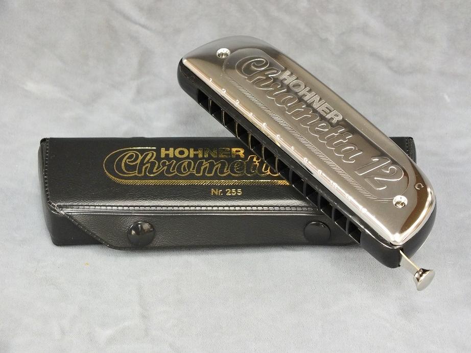 HOHNER Chrometta-12 (クロメッタ-12) 【クロマチックハーモニカ】