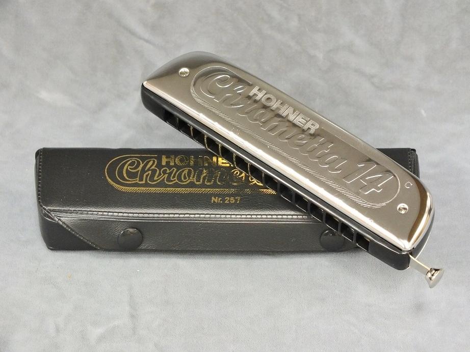 HOHNER Chrometta-14 (クロメッタ-14) 【クロマチックハーモニカ】