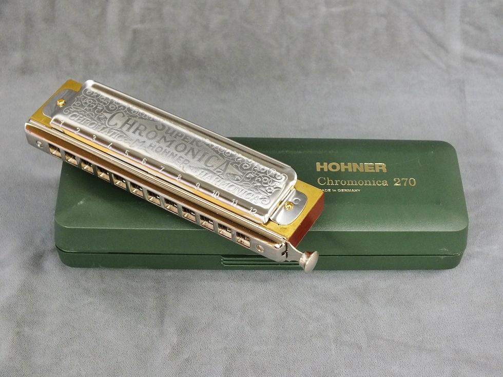《教則用DVD付き》 HOHNER Super Chromonica-270 (スーパークロモニカ270) 【クロマチックハーモニカ】