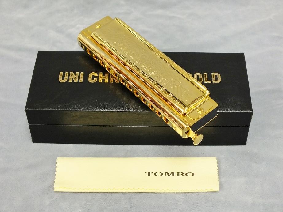 TOMBO No.1248G ユニ・クロマチックゴールド【クロマチックハーモニカ】