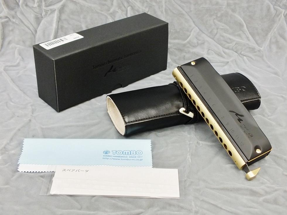 TOMBO No.2248 μ-01 (ミュー・01) 【クロマチックハーモニカ】