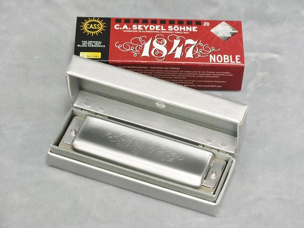 SEYDEL (サイドル) Blues 1847 Noble (1847 ノーブル) 【10ホールズ(ブルースハープ)】