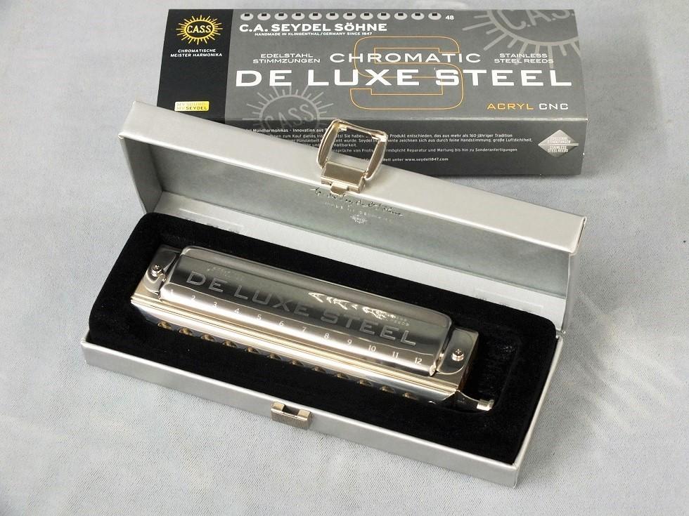 SEYDEL (サイドル) Chromatic DE LUXE STEEL (クロマチック・デラックス・スティール) 【クロマチックハーモニカ】