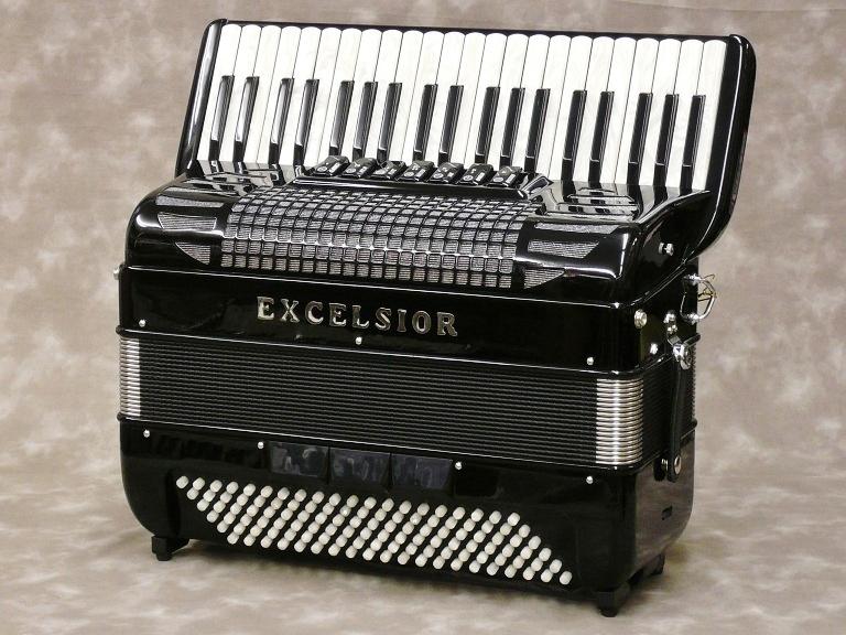 Excelsior 308 [color:Black] 【アコーディオン】