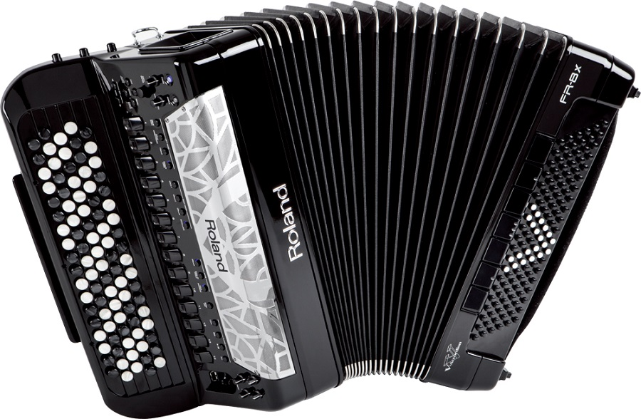 《蛇腹の表現力が飛躍的にアップ》 Roland V-accordion FR-8Xb (92ボタン/120ベース)