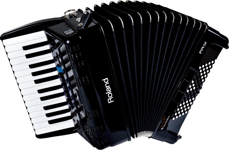 《Vアコのエントリー・モデル》 Roland V-accordion FR-1X (26鍵/72ベース)