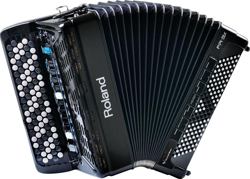【1台限定特価!!】 《扱いやすい中型モデル》 Roland V-accordion FR-3Xb (37鍵/120ベース) ☆純正ソフトケース付き☆