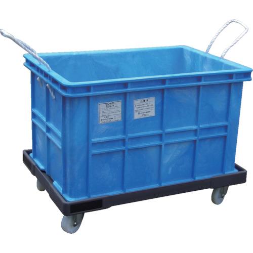 角型容器,角形容器,青い桶,農業,漁業,水産 ダイライト 角型容器 台車付 R-100K 【お届け先に法人名・店舗名・屋号等が必須】