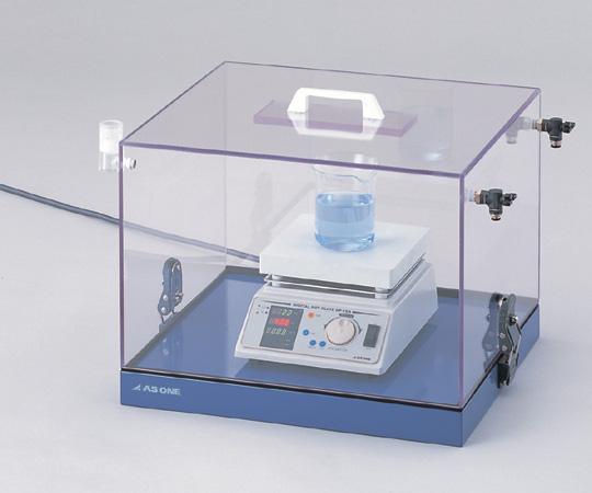 アズワン(AS ONE) ガス置換ボックス 450×400×345mm(1-7567-01)