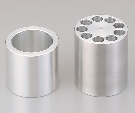 アズワン(AS ONE) 加熱撹拌ドライバス用 スリーブ φ18試験管用(2-7828-15)