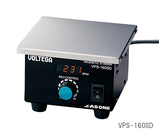 アズワン(AS ONE) VOLTEGAパワースターラー (SUS天板) 200×200mm(3-6758-02)