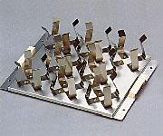 アズワン(AS ONE) ラボシェイカー用ホルダー 三角フラスコ200・300ml×8(1-205-06)