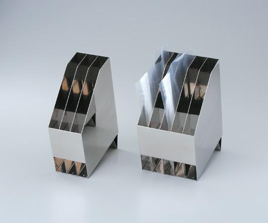 アズワン(AS ONE) ステンレス製バッグスタンド 5枚用(1-4692-02)