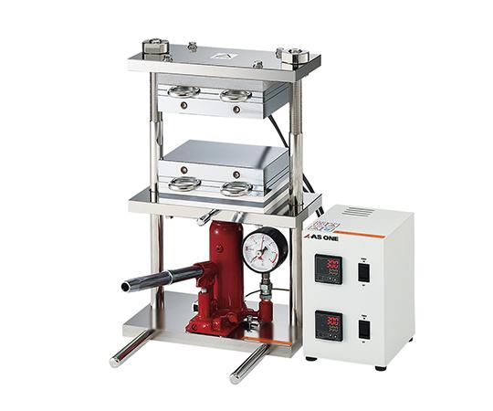 アズワン(AS ONE) 小型熱プレス機 (冷却機能付き) 1~15t(2-8157-13)