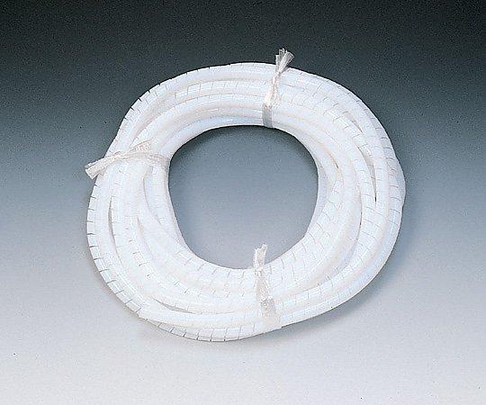 アズワン(AS ONE) フッ素樹脂(PTFE)スパイラルホース PTFE-6用 4×6 1巻(10m)(1-6435-01)
