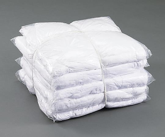 アズワン(AS ONE) メリヤスウエス 新品 白 2kg×10袋(3-1813-01)