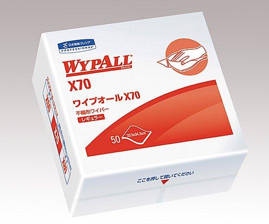 アズワン(AS ONE) ワイプオールX70 4つ折りタイプ 50枚×18袋(6-7388-11)