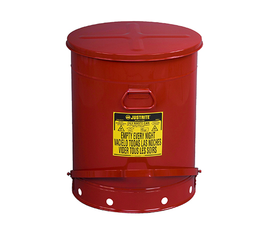 アズワン(AS ONE) 耐火ゴミ箱 J09700(2-1063-04)