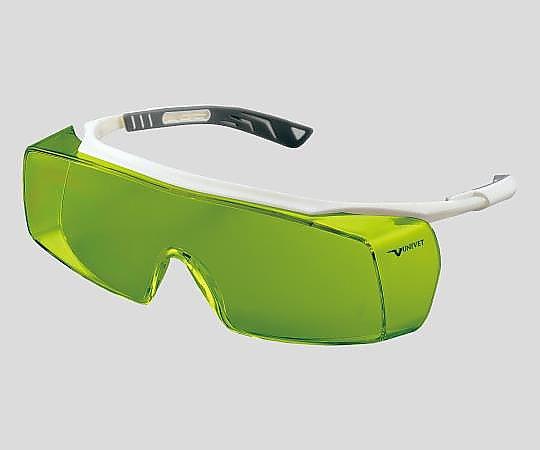 アズワン(AS ONE) レーザー光保護メガネ5X7L651(2-9802-01)
