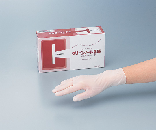 アズワン(AS ONE) クリーンノール 手袋 PVC パウダーフリー L 100枚×10箱(6-905-11)