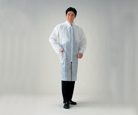 アズワン(AS ONE) ディスポコート 男性用(総丈約106cm) 50枚入(8-5665-51)