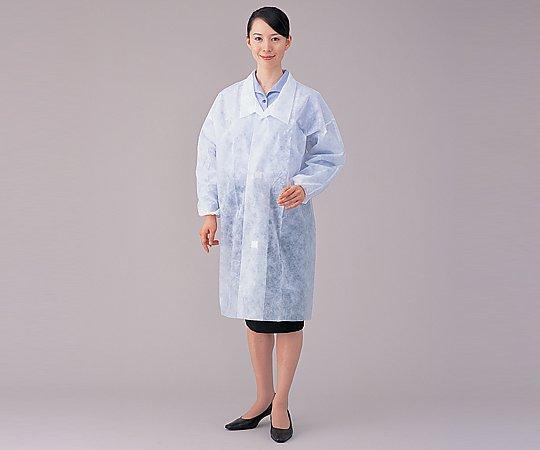 アズワン(AS ONE) ディスポ白衣 LL 100枚入(8-4055-13)