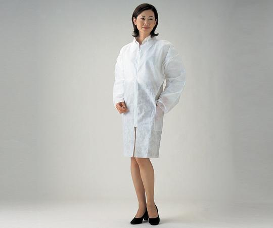アズワン(AS ONE) ディスポコート 女性用 (総丈約96cm) 50枚入(8-5665-52)