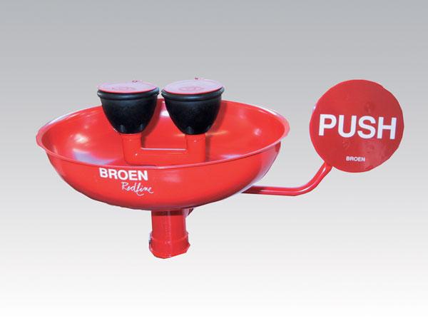 アズワン(AS ONE) 洗眼器 17-928-009 受け器付きタイプ(1-6933-01)