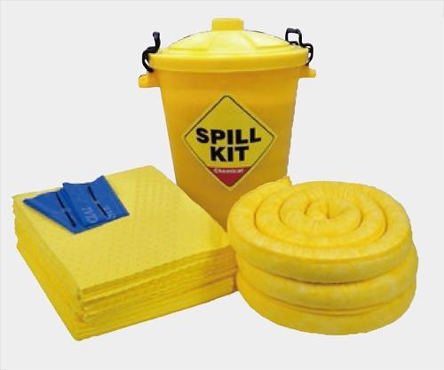 アズワン(AS ONE) 緊急液体吸収キット(水・油・溶剤・酸・アルカリ用) CSK6E(2-985-03)
