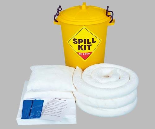 アズワン(AS ONE) 緊急液体吸収キット(油・溶剤用) OSK6E(2-985-02)