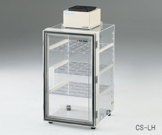 アズワン(AS ONE) 卓上クリーンストッカー(アクリルタイプ) 500×344×421(3-6808-02)