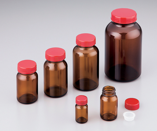 アズワン(AS ONE) 規格瓶SCC NO.50K 茶 24本入 (純水洗浄処理済み)(2-4998-11)