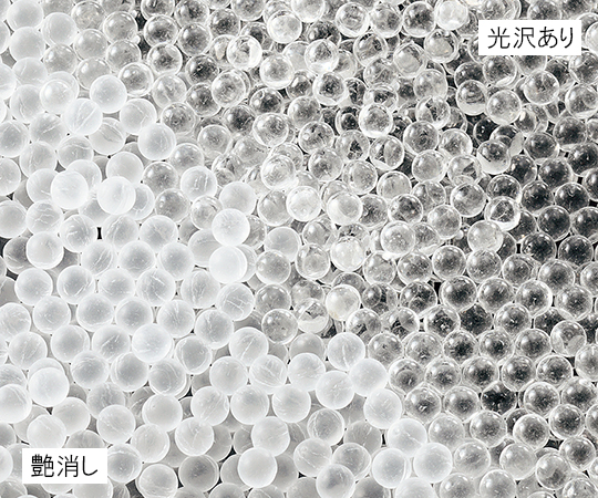 アズワン(AS ONE) ガラスビーズ 艶消し φ3mm(3-6385-01)