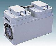 アズワン(AS ONE) 高真空ダイヤフラム型ドライ真空ポンプ 3.6A/3.7A DTC-60(1-4148-05)