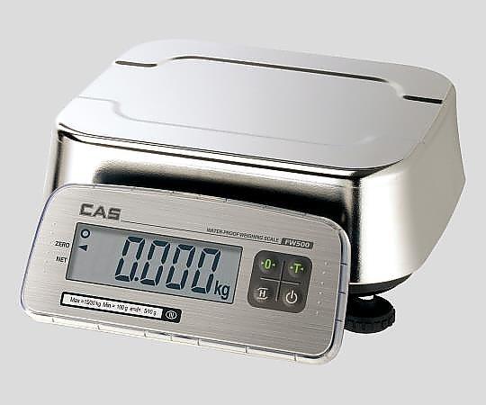 アズワン(AS ONE) 防塵防水デジタル台秤 FW500C-6(2-9845-01)