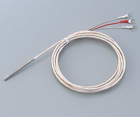 アズワン(AS ONE) 白金測温抵抗体A級3線式 L-TN-4-PT100(テフロン(R)モールド型)(5-1081-01)